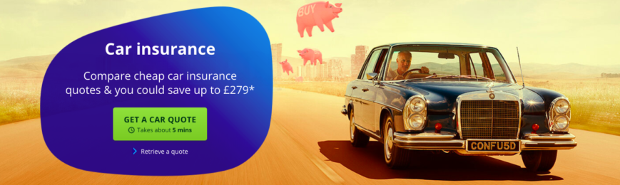 Save Up To £279 On Car Insurance