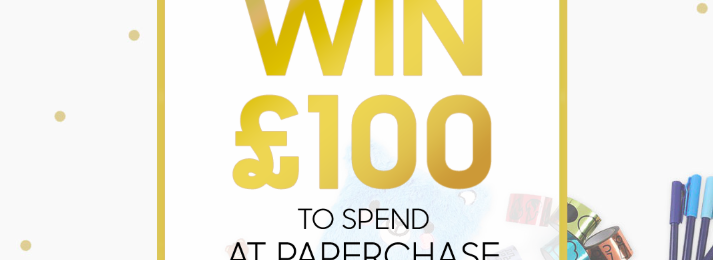 Win £100 to spend at Paperchase