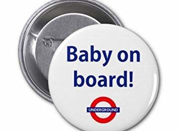 Free Baby On Board Badge – London