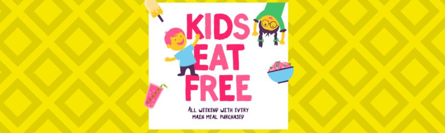 Kids Eat Free At Giraffe – Weekends