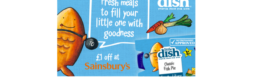 Free £1.00 off Any Little Dish Meal