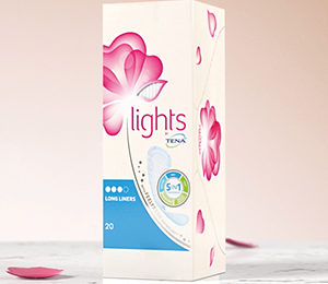 Get a free Lights by TENA sample
