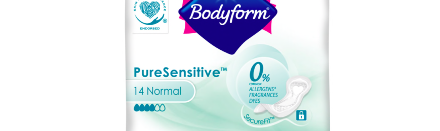 Free Pack of Bodyform PureSenstive Wipes – 100,000 Available