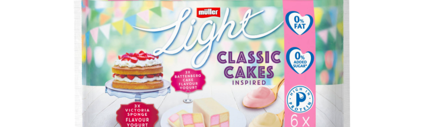 Free 6-Pack of Muller Light Yogurts