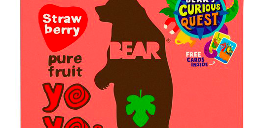 Free BEAR Strawberry Fruit Roll