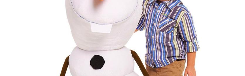 Free Giant Olaf Soft Toy – Worth £40