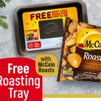 Free McCain Roasting Tray