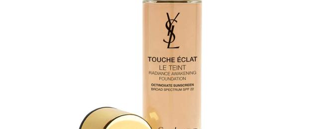 Free YSL Touche Éclat Le Teint Foundation