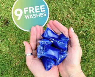 Free Laundry Detergent Box