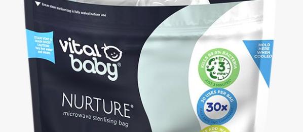 Free Nurture Baby Bag & Feeding Bottle