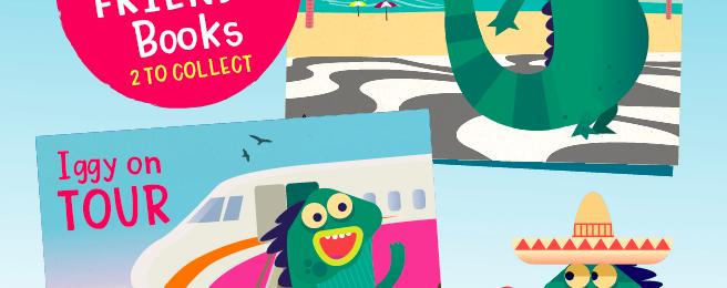 Free Iggy & Friends Kids Book