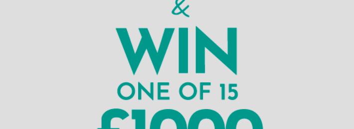 Win £1,000 Prepaid Mastercard
