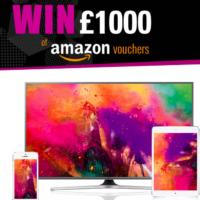 Win £1,000 of Amazon Vouchers