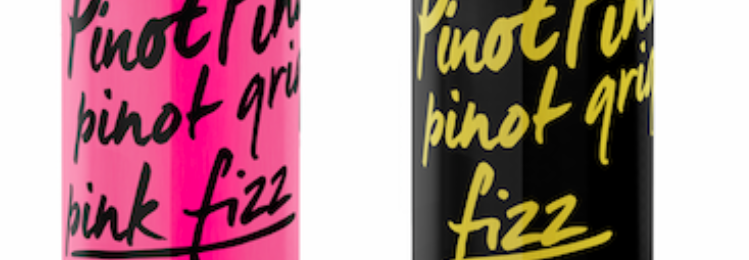 Free Can of Pink Fizz Wine