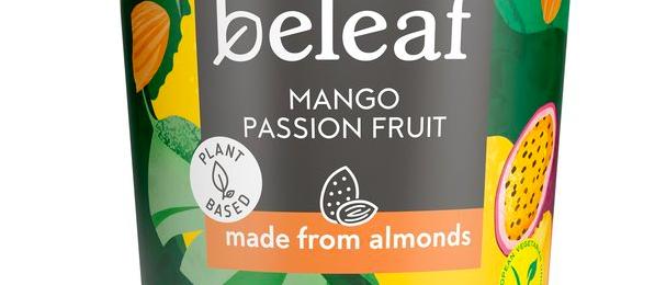 Free Beleaf Mango & Passion Fruit Yogurt