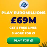 Free EuroMillions Tickets (£69M Jackpot)
