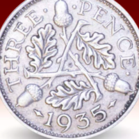 Free King George V Silver Coin