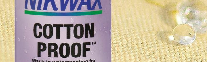 Free Nikwax Cotton Proof