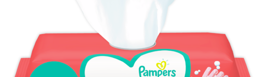 Free Pampers Hygiene on-the-go Wipes