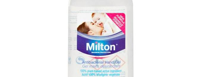 Free Milton Anti-bac Hand Sanitiser