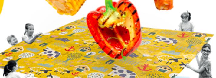 Free Beeswax Reusable Food Wrap