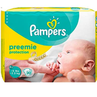 Free Pampers Premature Nappies