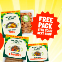 Free Pack of Plant-Based Sausages