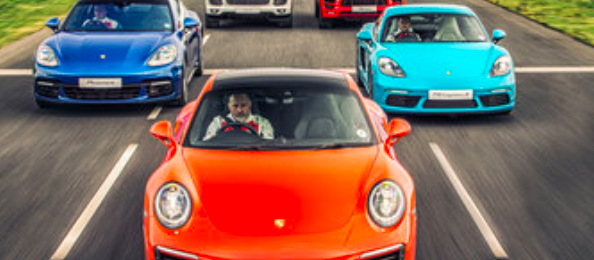 Free Silverstone Porsche Experience