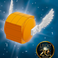 Free Harry Potter LEGO Golden Snitch