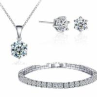 Swarovski Crystal Jewellery Set – Only £10.49 Today!