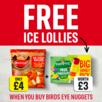 Free Fruit Pastilles Ice Lollies