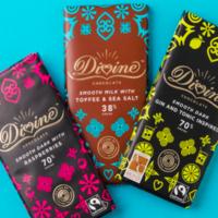 Free Divine Chocolate Bar