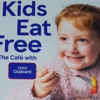 Free Tesco Kids Meal